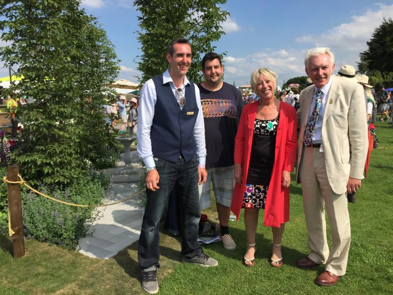 Carol S Garden: Arley Hall & Gardens Show Garden At The RHS Tatton Flower