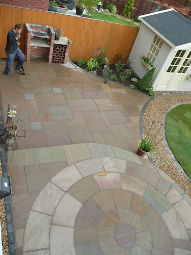 Paul Gibbons Landscapes Ltd - Patios 16