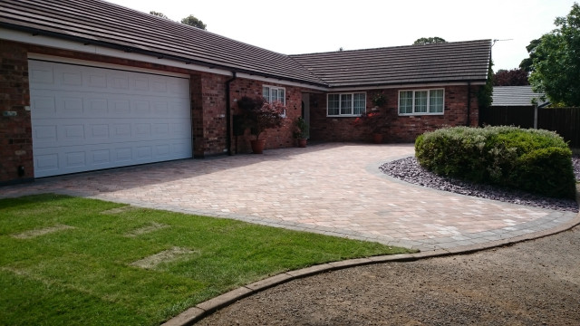After - New Driveway Macclesfield