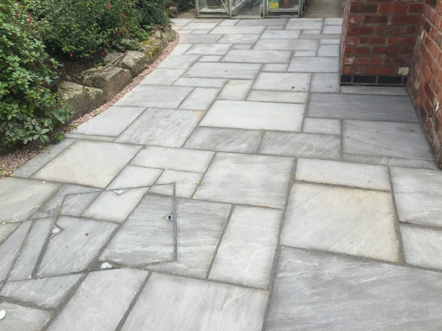 After - New Patio Macclesfield