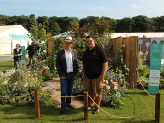 RHS Tatton Flower Show 2017 - Arley Hall and Gardens - Thyme to Retreat