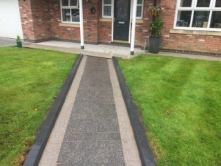 New path by Paul Gibbons Landscapes Ltd